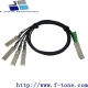 QSFP+ (40G) to 4x SFP+ (10G) Cable